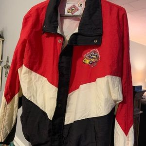 Vintage Sears racing wind jacket